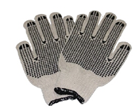 Knitted Gloves Double Side Dotted