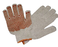Knitted Gloves SIngle Side Dotted