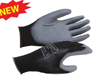 Nylon Gloves With Gray