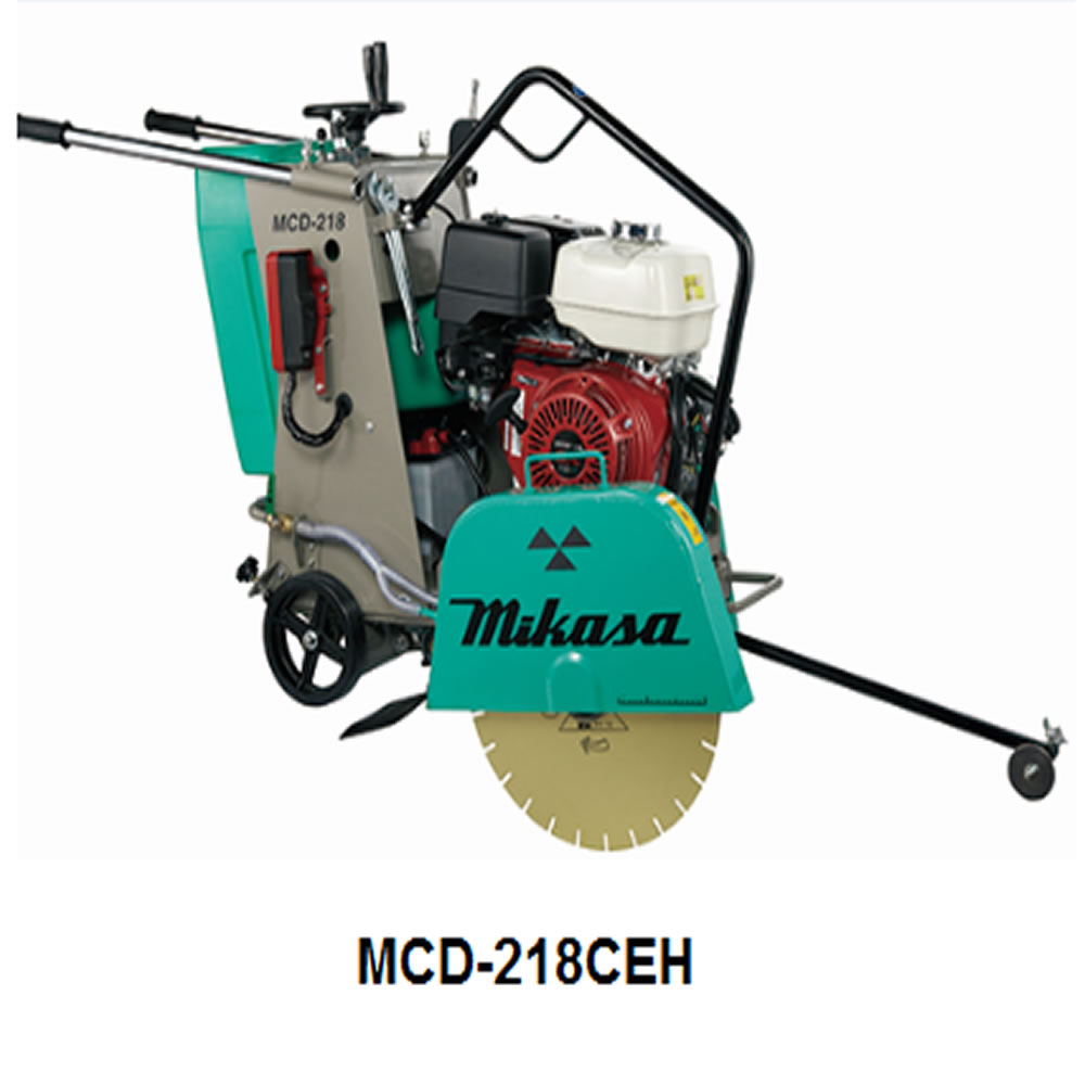 Concrete Cutter MCD-218CEH (with Hour & Techo Meter)